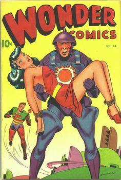 Wonder Comics (Better Publications) No. 14 October 1947 Cover Art - Alex Schomburg