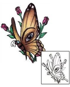 Butterfly Tattoos PVF-00453 Created by Pericle Varduca