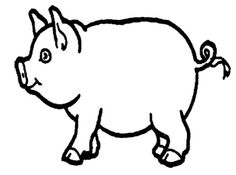 Free Printable Pig Coloring Pages for Kids 4957 Pig Emoji Coloriage Dessin Pig Emoji Coloriage Dessin Peppa Pig Coloring Pages, Farm Animal Coloring Pages, Coloring Pages To Print, Coloring For Kids, Coloring Sheets, Coloring Pages For Kids, Animal Outline, Animal Cutouts, Animal Templates