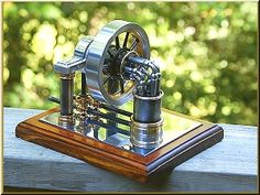 Hand Made 10 Cylinder Elbow Engine