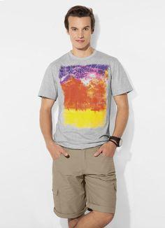 Camiseta Mescla Mineral