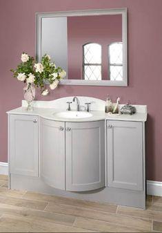 Pink is for everyone! Yellow Accessories, Neutral Bathroom, Sleek Look, Corner Bathtub, Color Schemes, Bathrooms, Pink, Blog, Design