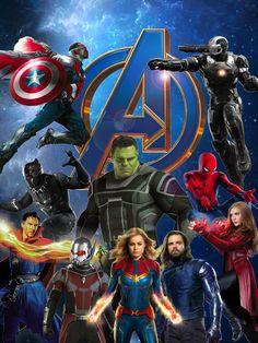 The New Avengers - Marvel Universe Avengers Girl, Avengers Cartoon, Marvel Avengers Comics, Avengers Outfits, Marvel Avengers Assemble, Marvel E Dc, New Avengers, Marvel Heroes, Captain Marvel