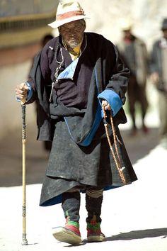 Old Man, Tibet