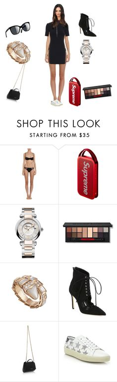 """""""Untitled #2103"""" by rine23 ❤ liked on Polyvore featuring Cosabella, Chopard, Smashbox, Bulgari, Manolo Blahnik, Givenchy and Yves Saint Laurent"""