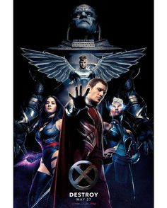 #XMen #Apocalypse is coming soon to @GDCinemas. how many of us are excited? The Oldest Mutant is back. Please Visit http://ift.tt/1LHnTEM for movie times.