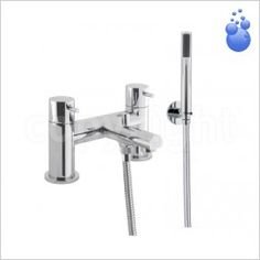 Store - Crosswater Taps - Kai Lever Bath Shower Mixer, Deck Mounted - Crosswater Taps - Kai Lever Bath Shower Mixer, Deck Mounted | Park Street Bathrooms