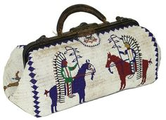 Lot:Fully Beaded Doctor's Bag, Lot Number:759, Starting Bid:$600, Auctioneer:Allard Auctions Inc., Auction:Fully Beaded Doctor's Bag, Date:07:00 AM PT - Aug 14th, 2011