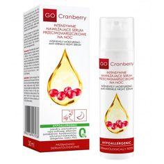 Intensywnie Nawilżające Serum Przeciwzmarszczkowe na noc 30 ml Gocranberry