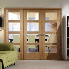 Easi-Frame Oak Door Set, GOSHA4L-COEOP16L, 2005mm Height, 2118mm Wide. #easiframedoor #doorframeandscreen