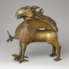 Aquamanile in the Form of a Griffin-1425-1450