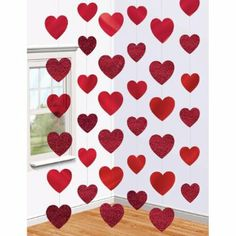Amscan International Decorative Candy Hearts String: Amazon.co.uk: Kitchen & Home