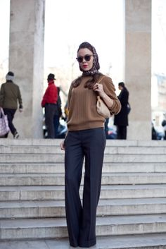 love the long, cuffed trouser - want these pants!