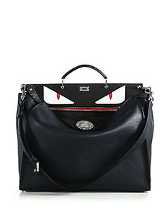 MONSTERS! - Fendi Selleria Bugs Peekaboo Bag