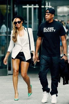 Beyonce and Jay Z  check out my hip hop beats @ http://kidDyno.com