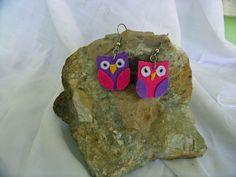 Owl jewelry  - Eulen schmuck  - Baykuş takı -   Do you want to decorate your ears with me...  Möchten Sie Ihre Ohren mit mir schmücken wollen.... Kulaklarınızı benimle süslemek istermisiniz.  /* Hand craft -  Hippie - Bohemian - Shabby - Original design*/*
