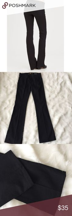 7 For All Mankind Black Bootcut Jeans Great condition! Have been hemmed. inseam 32 inches 7 For All Mankind Jeans Boot Cut