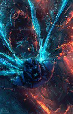 Blue Beetle byMehmet Ozen #Memed
