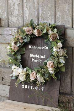 ウェルカムボード 結婚パーティー
