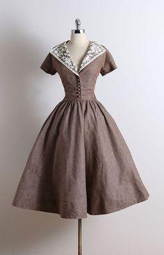 """fawnvelveteen: """" 1950s vintage dresses """""""