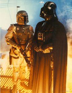 Bobba Fett & Darth Vader