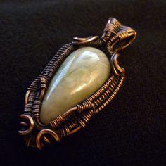 Grossular Garnet by Julie Lockhart of Copar Aingeal https://www.etsy.com/shop/coparaingeal