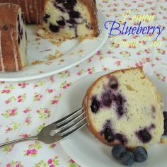 Lemon Blueberry Pound Cake from Chocolate Chocolate and more