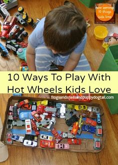 10 Ways To Play With Hot Wheels Kids LoveToy car wash fun! by FSPDT