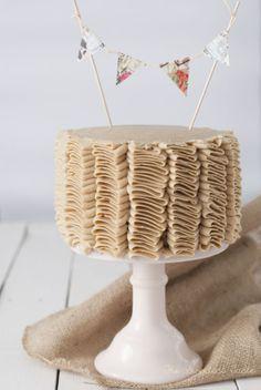 Tarta de vainilla y capuccino - The Sweetest Taste