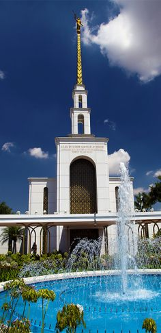 LDS Mormon Temple of São Paulo, Brazil