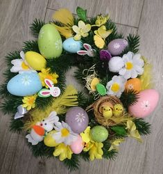 Easter wreath £8