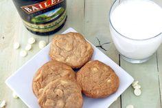 Baileys White Choc Chip cookies