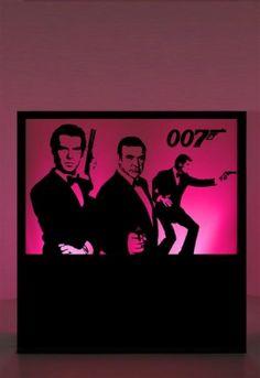 James Bond Party Props | James Bond Theme Party: Bond Men Silhouette Panel Prop