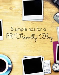 Incorporate some, or all of these very simple tips on your blog to make it more attractive to PR and marketing professionals.