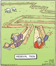 Mediaval Tron. [!]