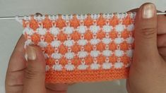 Two Color Easy Knitting Model (Baby Knitting Model) / Strickmuster / Knitting Pat . Easy Knitting, Knitting Stitches, Knitted Gloves, Fingerless Gloves, Crochet For Kids, Crochet Baby, Piercings Ideas, Air Max 90, Under Armour