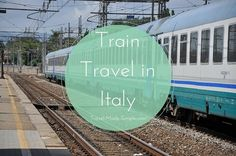 Train travel in Italy will most likely be your primary mode of transportation. Learn about different types of trains and how to get around Italy by train.