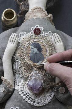Making of Memorial Doll 43