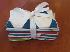 Jay-Cyn Designs for Birch Fabrics Organic, Set Sail in FAT QUARTERS, 12 Total