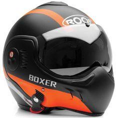 Roof Boxer V8 Manga helmet black/orange