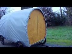 ▶ Bicycle Towable Shelter - YouTube Cool Bicycles, Cool Bikes, Outdoor Travel, Outdoor Gear, Portable Shelter, Hiking Tent, Festival Camping, Survival Shelter, Diy Camper