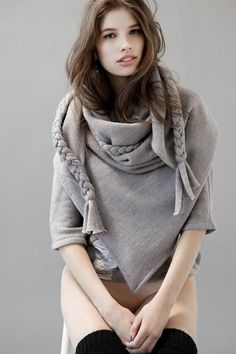 WANT eve gravel mueck scarf