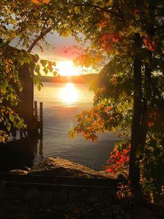 Sunrise (this day, last yr Meredith, New Hampshire Beautiful. Beautiful World, Beautiful Places, Amazing Places, Beautiful Scenery, Simply Beautiful, Beautiful Sunrise, Beautiful Morning, Belleza Natural, New Hampshire