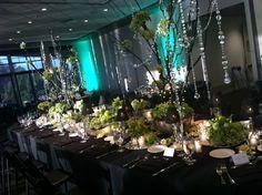 Reception at Stockton Golf & Country Club. Royal table - October, Fall wedding