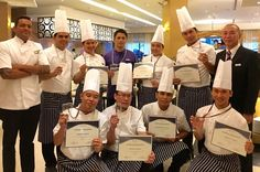 Cebu Goes Culinary #hangover congratulations to our very hardworking team of chefs cooks and managers bringing pride to the  #questhotel brand with a gold for table setting silvers in cake dressing pralines making cocktail mixing and bronze in set menu making and chocolate carving among others #cebugoesculinary2016 #cebu #hotel #questhotel #pusobistro