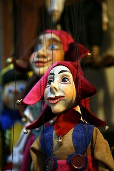 Everyone was technically Iago's puppets.