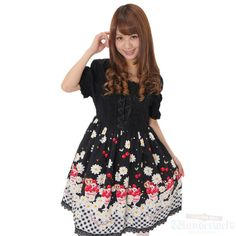 New arrival BABY THE STARS SHINE BRIGHT Chocolat dress in early summer Fruit parfait and Margaret of pattern is wonderful.
