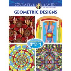 Creative HavenR Geometric Designs Deluxe Edition Coloring Book