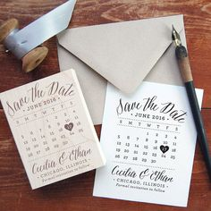 Save the Date stamps are a great way to personalise your stationery and can leave you with impressive looking cards that won't break the bank. And with endless supply of stamps to choose from, yo ...
