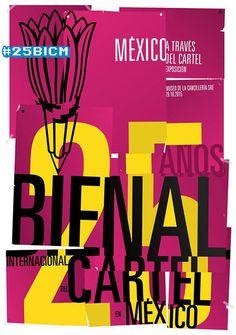 25 aniversario Bienal Internacional del Cartel en México (BICM)